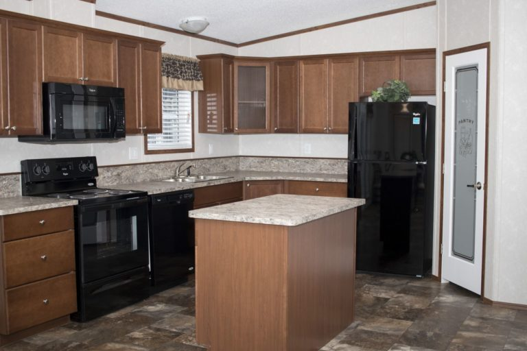 Northland Galaxy Mobile Home Kitchen