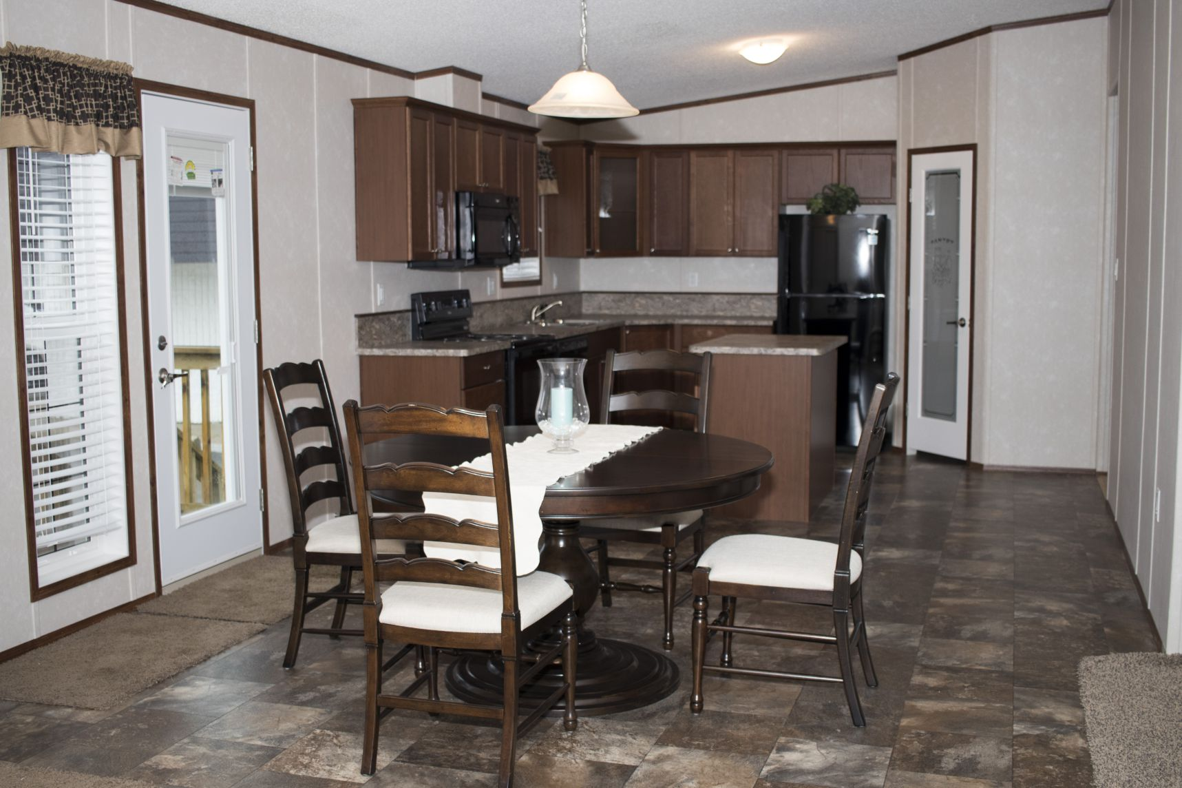 Northland Galaxy Mobile Home Dining Room Kitchen