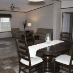 Northland Galaxy Mobile Home Dining Room