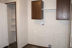 Northland Galaxy Mobile Home Laundry Room