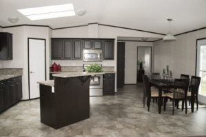 Northland Galaxy Mobile Home Modern Kitchen