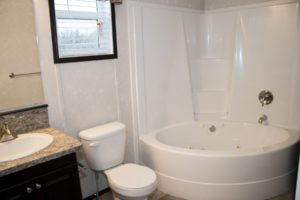 Northland Galaxy Mobile Home Bathroom