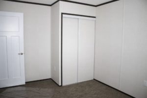 Northland Mobile Home Closet in Bedroom