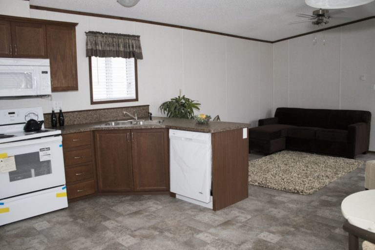 Northwood Mobile Home Kitchen