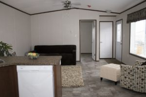 Northwood Mobile Home Living Room
