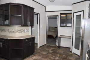 Northland Galaxy Mobile Home Kitchen and Hallway