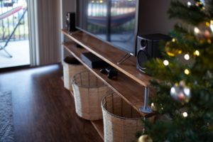 tv stand how to furnish your first home