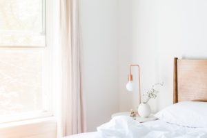 end tables and lamps in your new modular home