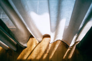 hanging curtains in your home to decorate
