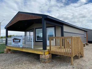 exterior cottage show home