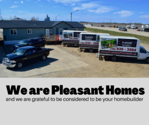 Modular home business and fleet vehicles