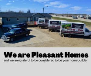 Modular home business and fleet vehicles
