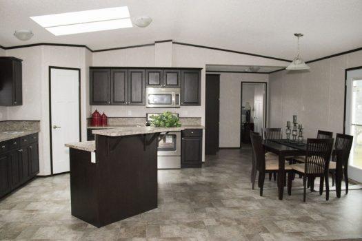 Northland Galaxy Mobile Home Modern Kitchen