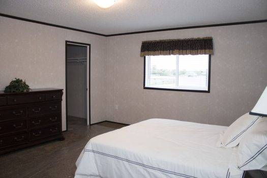 Northland Galaxy Mobile Home Second Bedroom