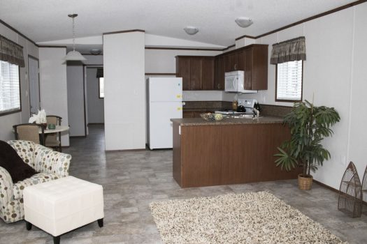 Northwood Mobile Home Kitchen from living room