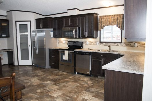 Northland Galaxy Mobile Home Kitchen Pic 2